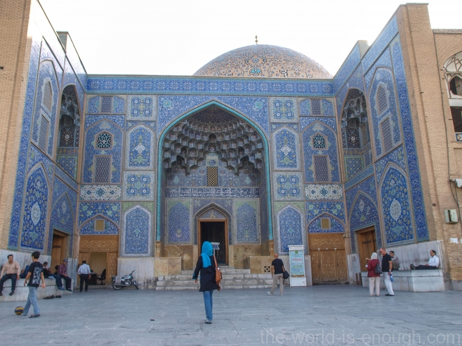 Вход в мечеть Шейха Лотфуллы