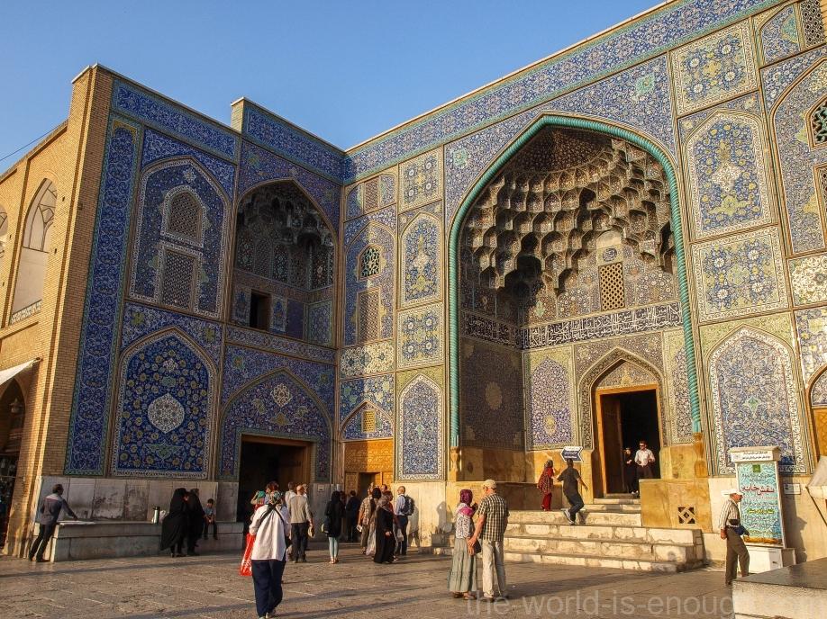 мечеть Шейха Лютфуллы, Исфахан, Иран