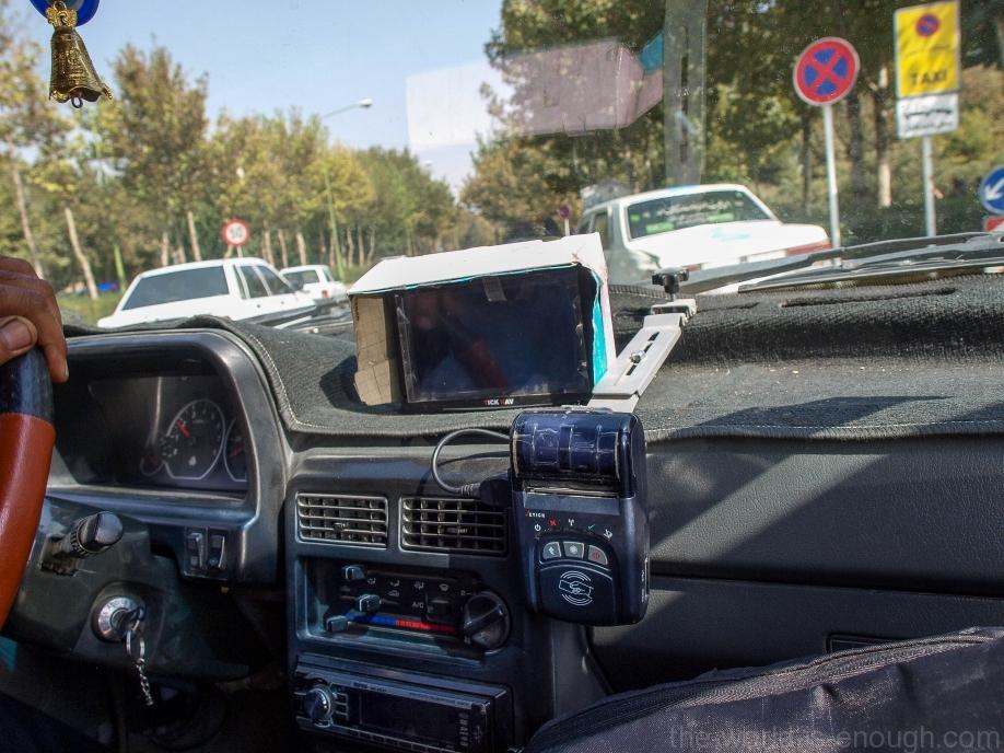 Исфаханское такси