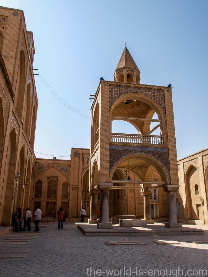 Армянская Церковь Ванк, Исфахан, Иран