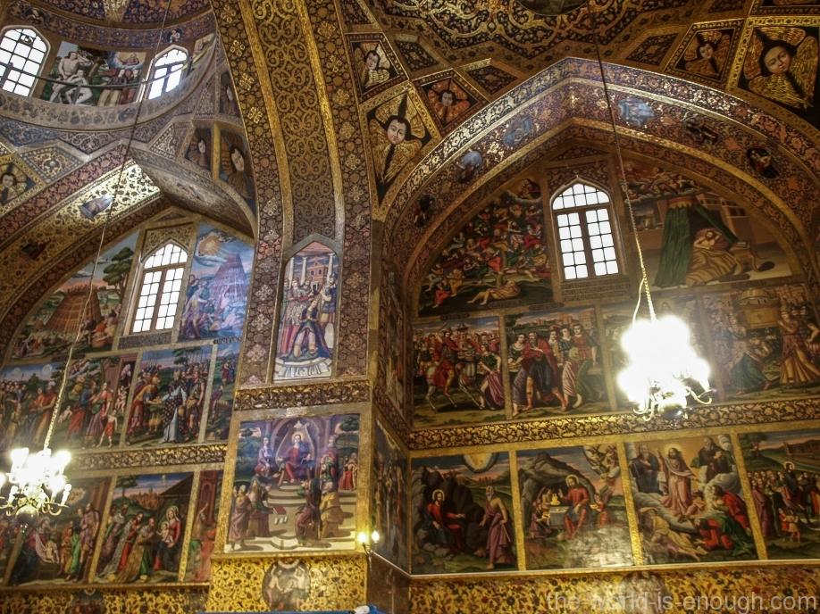 Собор Святого Христа Всеспасителя в Исфахане