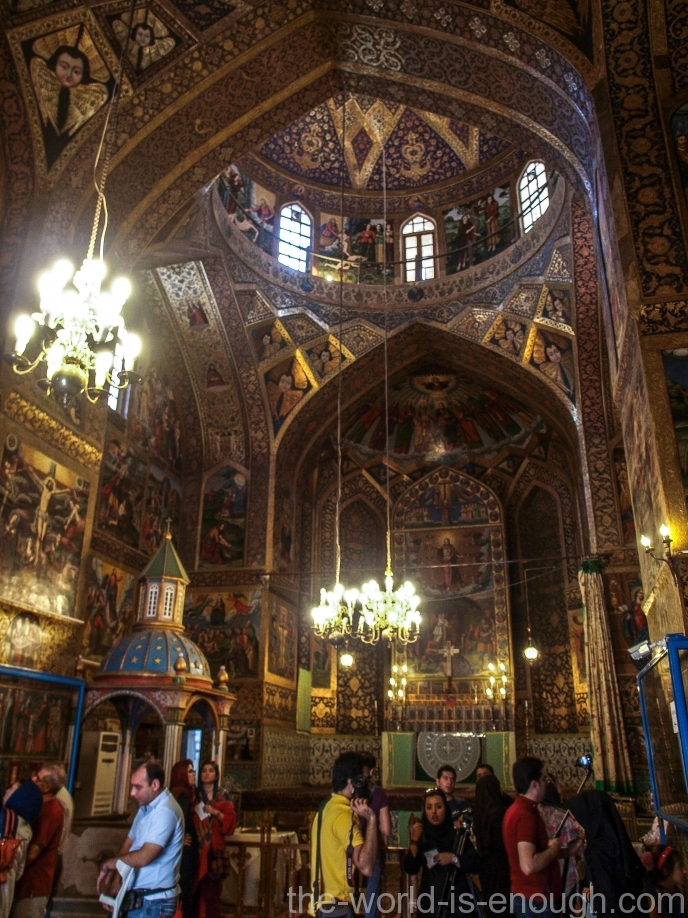 Кафедральный собор Святых Сестёр в Исфахане