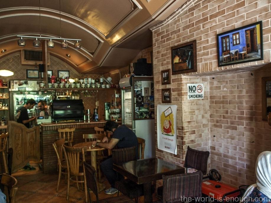 Армянское кафе Ани в Новой Джульфе, Исфахан