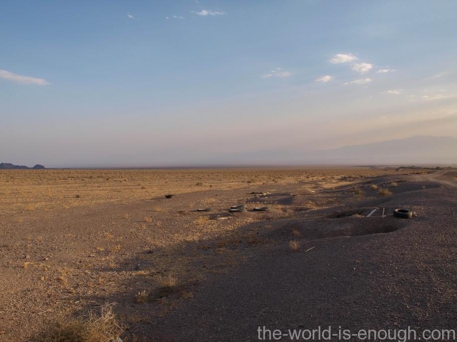 Пустыня Маранджаб, Maranjab desert Место схрона отар под дорогой на случай бури, вход