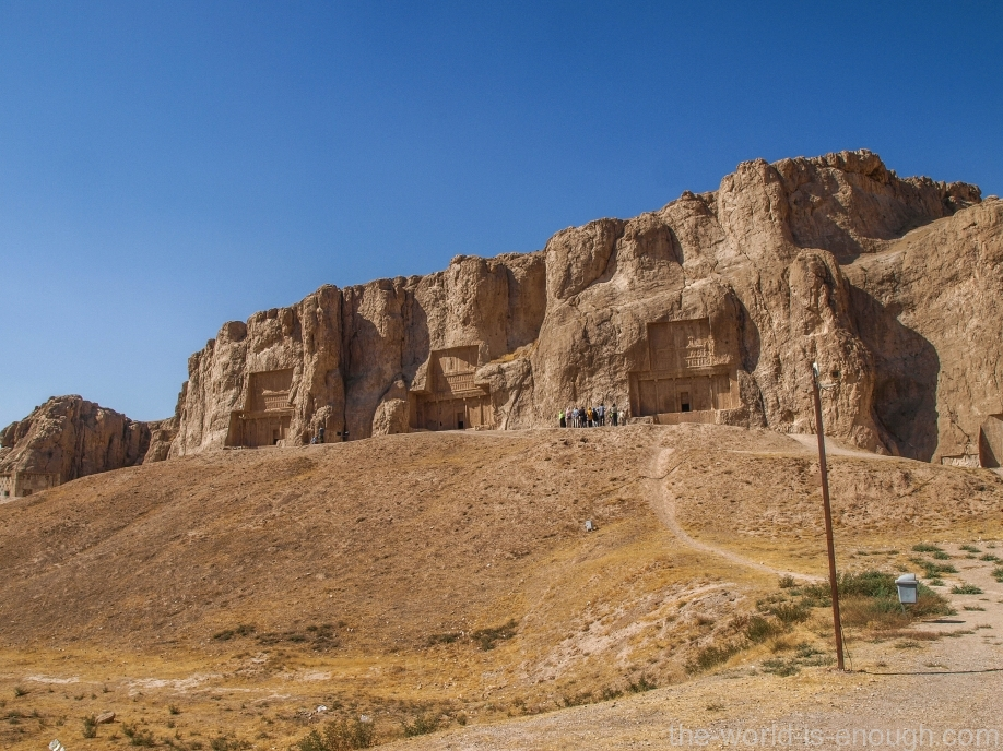 Накше-Рустам, Иран