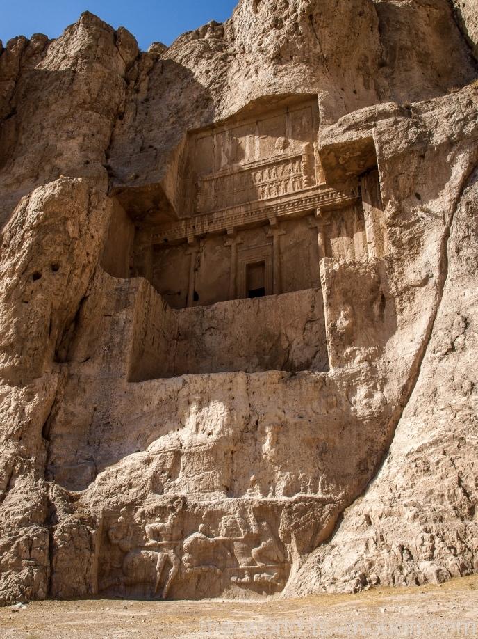 Накше-Рустам, Гробница Артаксеркса I