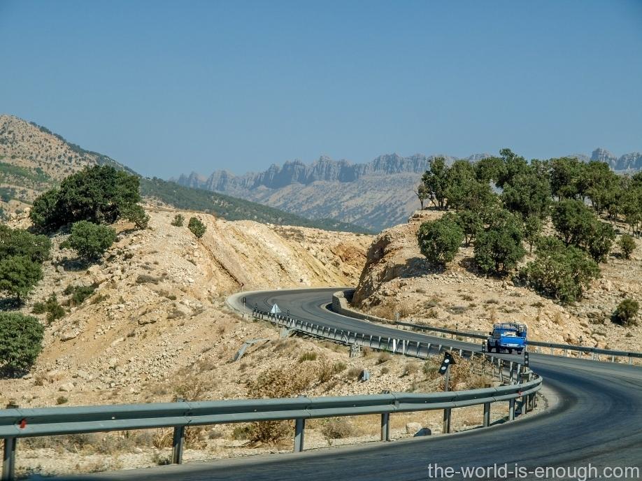 Iranian roads, Fars