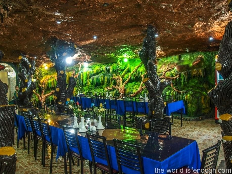 Ресторан Parsian, Персеполь