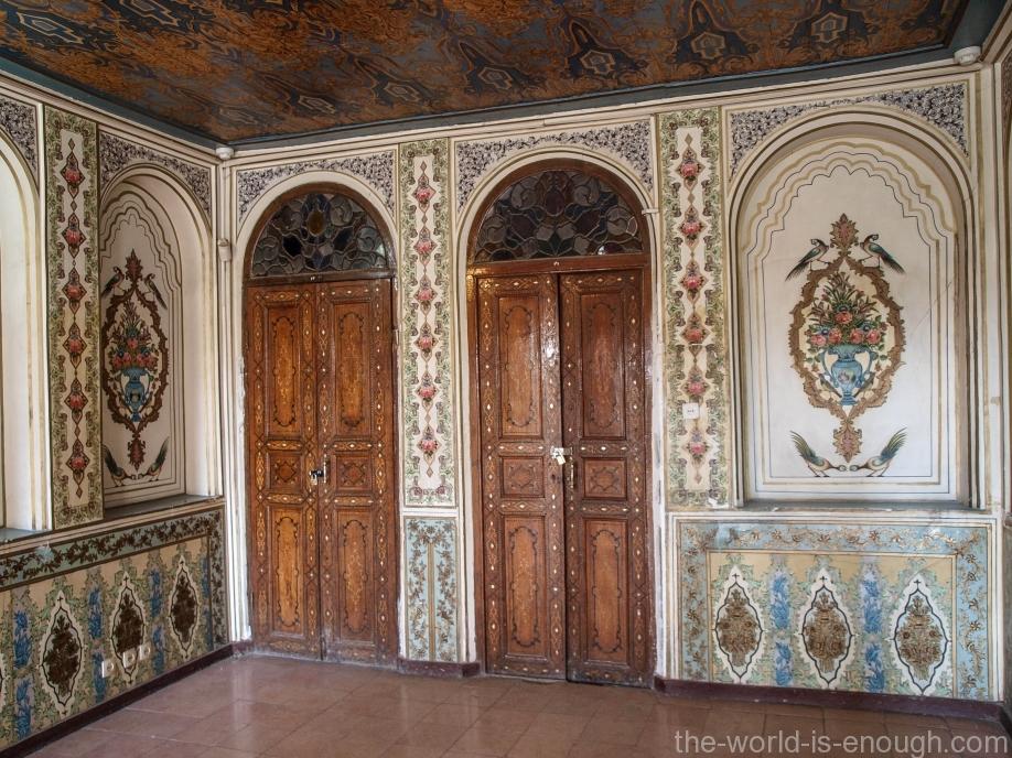 Внутренние помещения буруни дома Кавам, Шираз