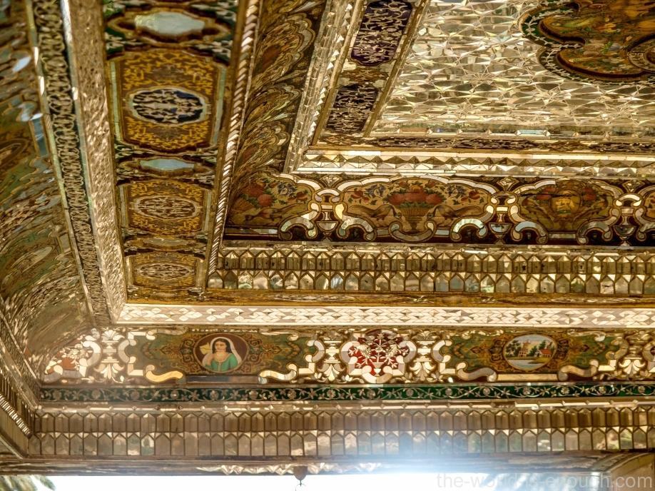 Элементы отделки потолка талара дома Кавамов, Шираз