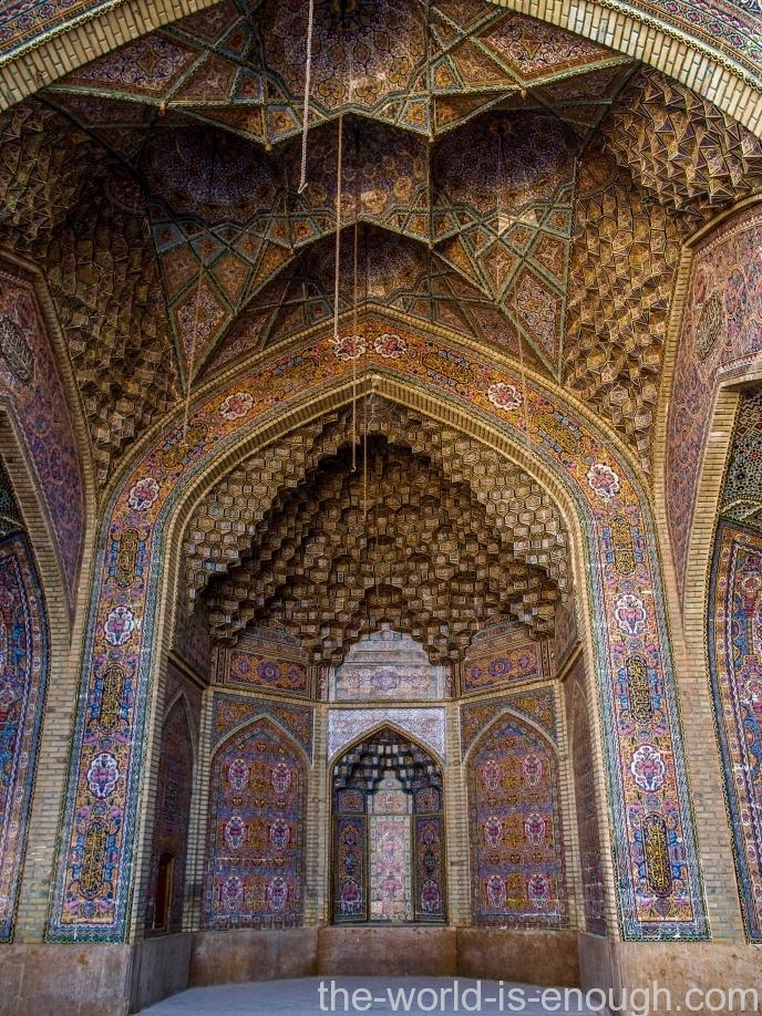 розовая мечеть Насир аль Мульк