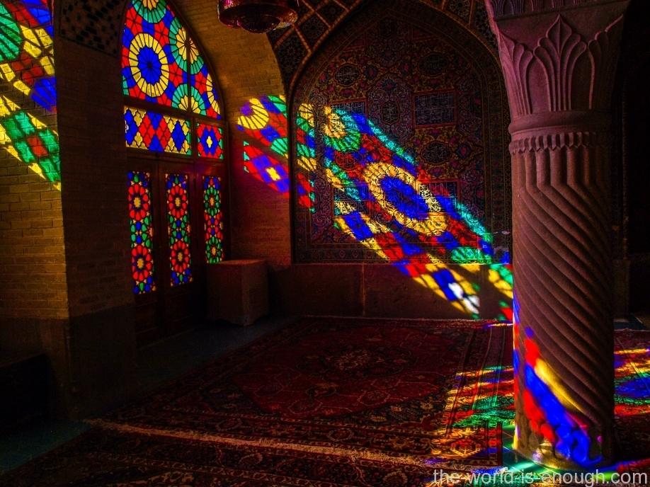 Насир аль-Мульк, мечеть красок