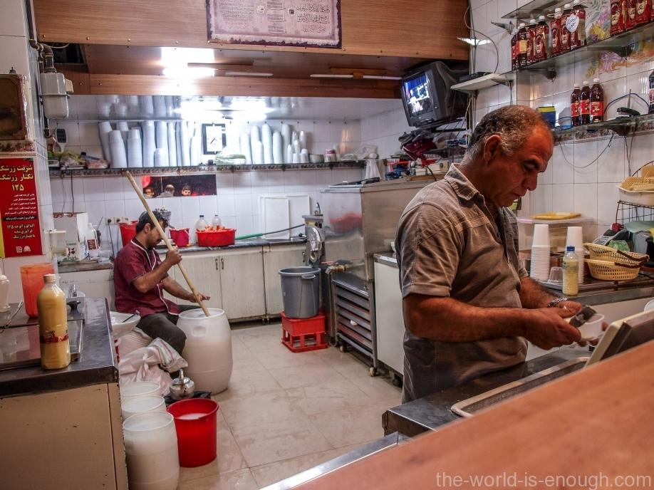 иранское мороженое
