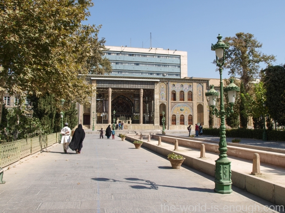 Дворец Голестан, Тегеран