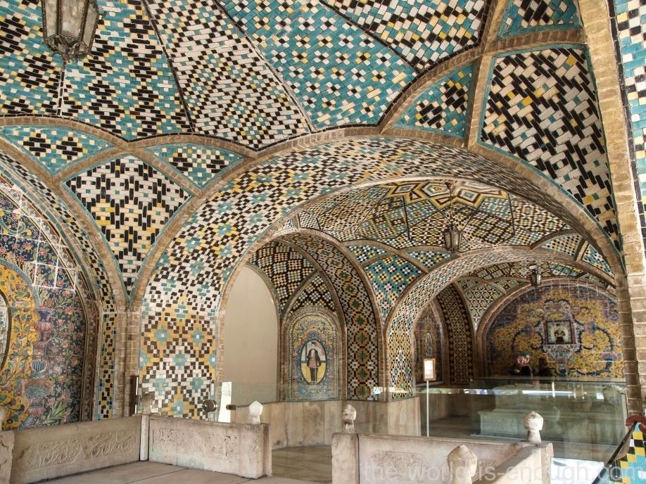 Уголок Карим-хана, Дворец Голестан, Тегеран