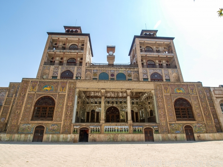 Тегеран, дворец Голестан, Дом Солнца, Edifice of the Sun Golestan Palace