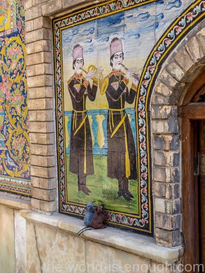 Тегеран, дворец Голестан, Дом Солнца, Golestan palace