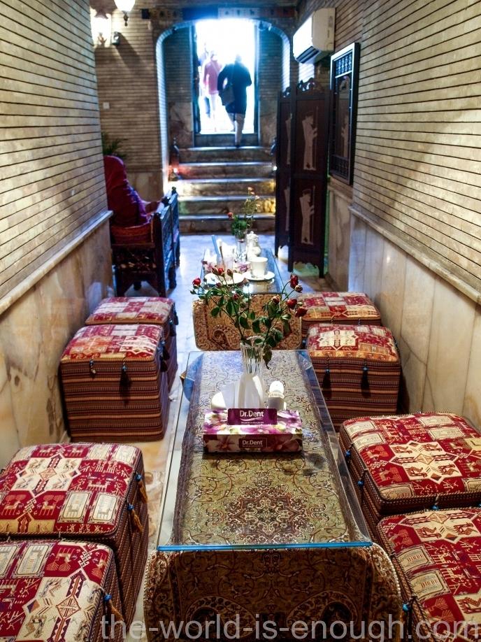 Тегеран, дворец Голестан, Golestan Cafe