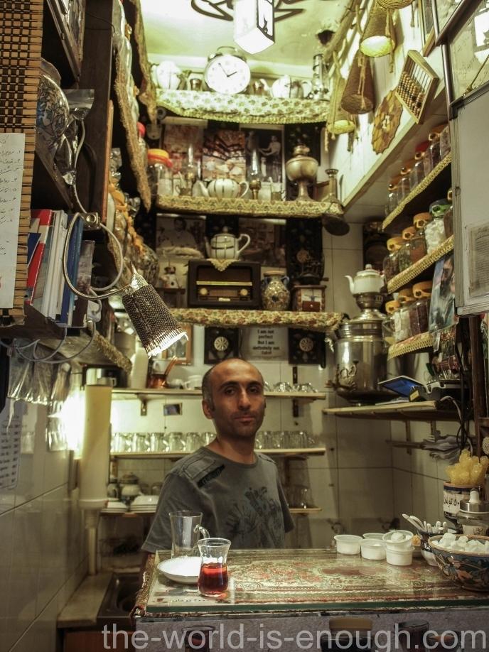 Тегеранский базар, Tea room Grand Bazaar Tehran
