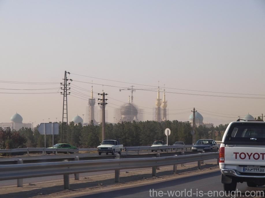 Тегеран, Мемориальный комплекс аятоллы Хомейни Khomeini Mausoleum