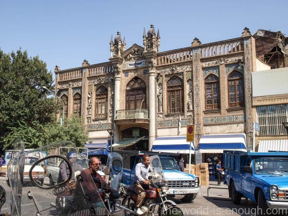 Тегеран,Tehran streets