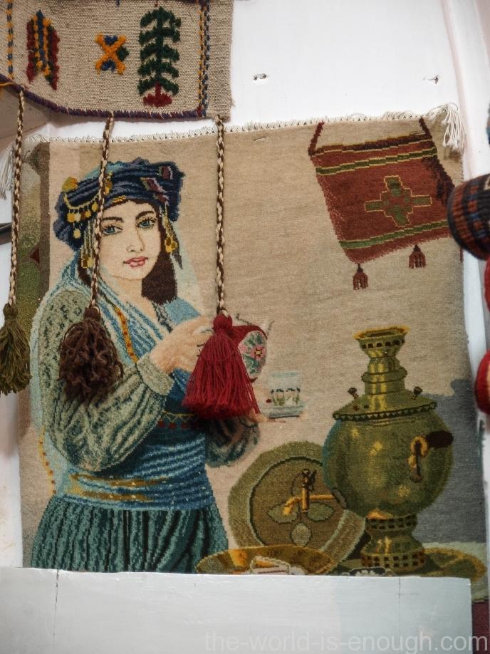 У самовара я и моя... Марьям;) иранские ковры