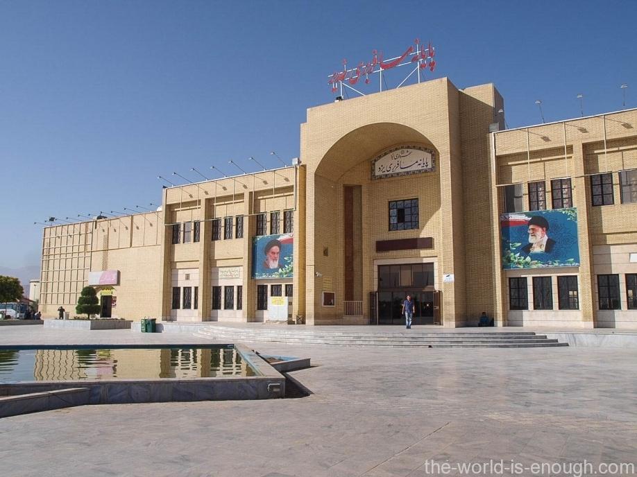 Автовокзал Йезда, Иран