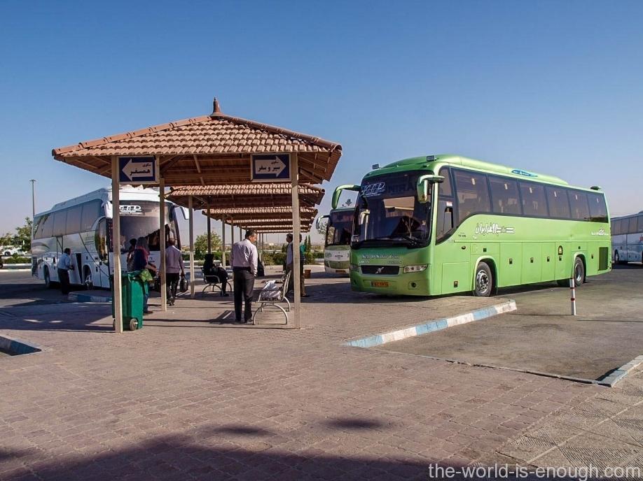 Посадочная платформа автовокзала, Йезд
