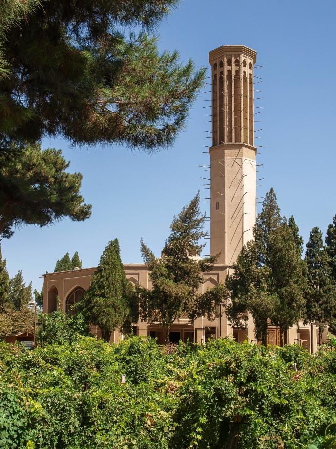 дворец - павильон сада Доулат Абад