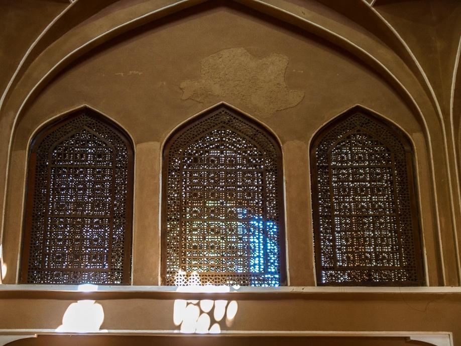 Кружевные деревянные перегородки Доулат Абад. Йезд
