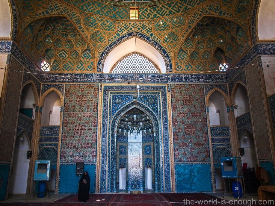 Мехраб Пятничной мечети Йезда