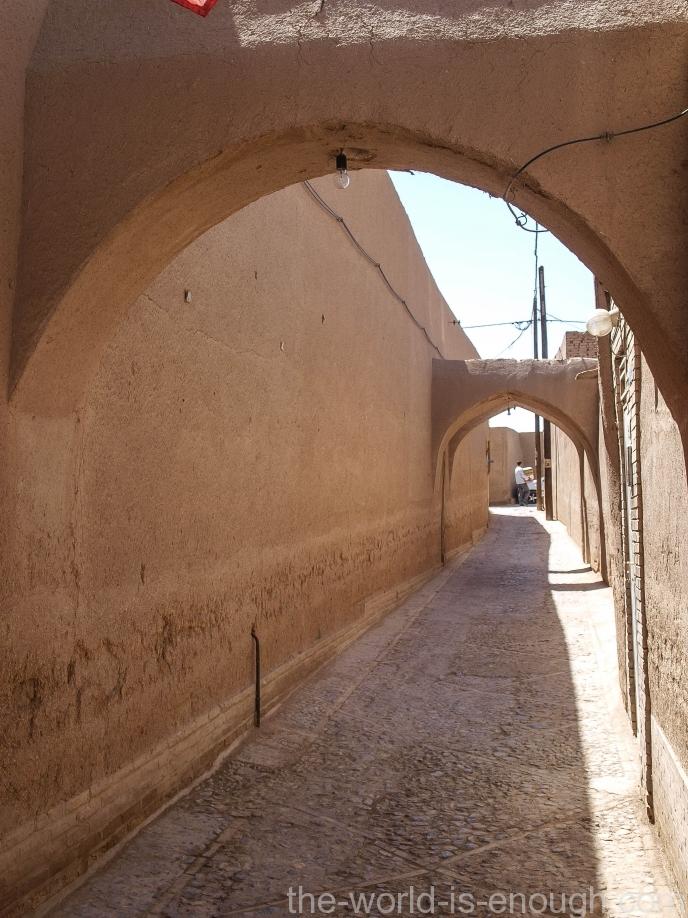 Улочки старого города Йездаудивительно чистые