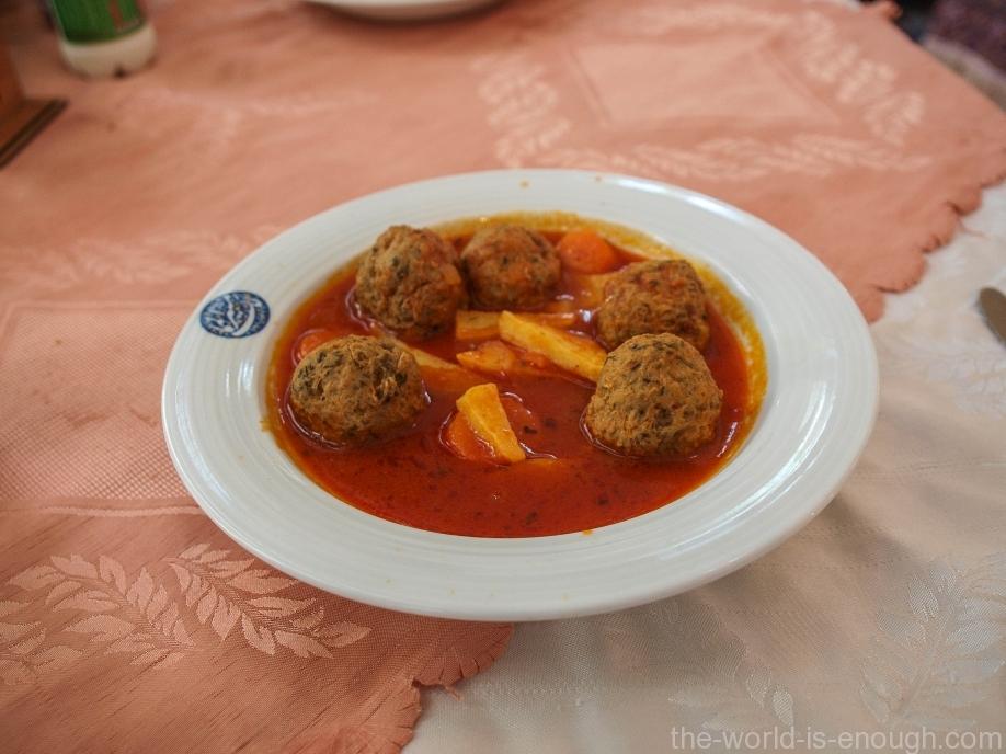 Куфте - иранские мясные тефтели