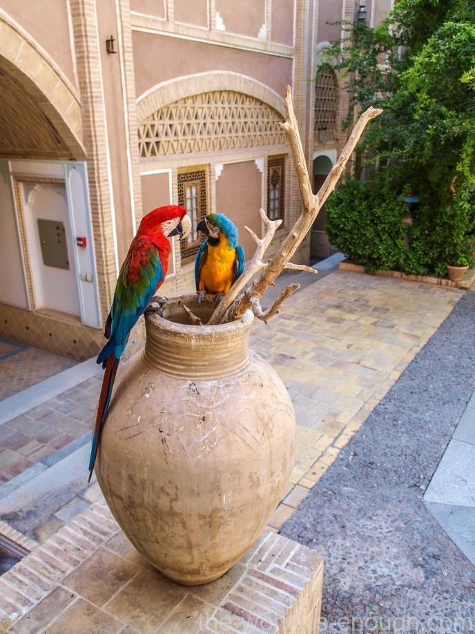 Moshir al-Mamalek Garden Hotel, Yazd