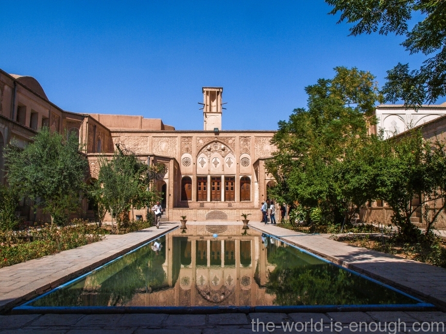 The Borujerdi House, Kashan, Iran